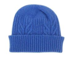 Very Nice Blue Beanie :)    #cashmere #beanie #hat #winter #accessories #knit