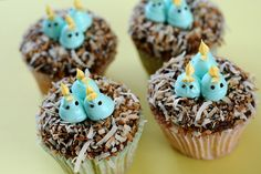 Easter Cupcakes!    Decorating idea