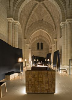 The new Fontevraud L'Hotel in the 12th century Fontevraud Abbey, Loire Valley, France | Remodelista