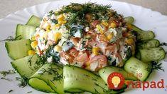 9 diétnych šalátov namiesto večere: Jedzte ich pokojne aj po 22:00 a pritom stále chudnete! New Recipes, Healthy Recipes, Avocado Egg, Food Art, Cobb Salad, Pickles, Asparagus, Zucchini, Sushi