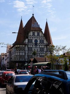 the Castelinho (Little Castle), in Blumenau, Santa Catarina, Brazil.