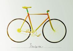 Fixed Gear Made Out of Food, photo: Fabian Ohrn, art direction: Joakim Hedbland via Trendland, see more there!