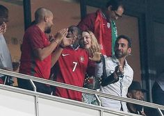 Photos: Madonna celebrates with Portugal as she watches the country qualify for 2018 World Cup in Russia http://ift.tt/2ybNXGB