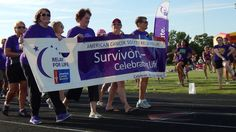 MUSCATINE, Iowa— The American Cancer Society's 27th Annual Relay for Life of Muscatine was held Friday night, and cancer survivors walked with friends and family to support cancer research.