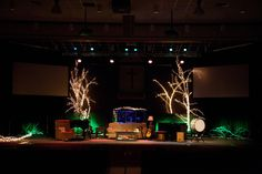 Our stage design for Christmas 2012.