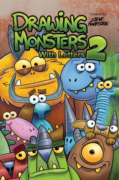 Drawing Monsters With Letters 2