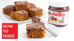 How To Make Nutella Cake https://youtu.be/7f1B3G5GQOw You can find the Nutella Cake Recipe http://www.today.com/recipes/nutella-cake-recipe-t105885