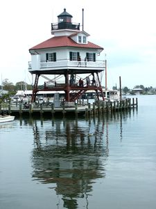 Drum Point Lighthouse Maryland