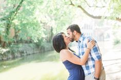 Victor + Lindsay Engaged Photos by Klaire Dixius Photography
