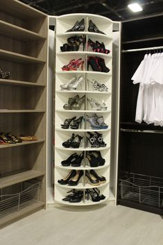 Wow ... Innovative closet system - A dream come true for small spaces. A system that can expand your storage capacity - display your shoes, folded clothes, boots, pocketbooks, even hang clothes and add some drawer into it. Allows you to be creative and customize it to your needs. Sold by itself and require 2 people to assemble it.