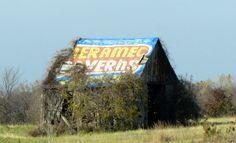 Good memories - Meramec Caverns in Missouri advertising on barns for miles…