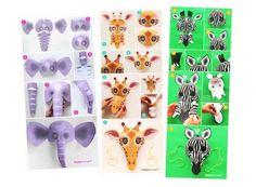 Cómo hacer máscaras de animales salvajes: león, hipopótamo, elefante, serpiente, jirafa, mono, leopardo, cocodrilo y zebra... ¡Haz click aquí para ver más! World Book Day Activities, Craft Activities, Summer Activities, Mascarilla Diy, Printable Animal Masks, Zebra Mask, Monkey Mask, Lion Mask, Le Roi Lion