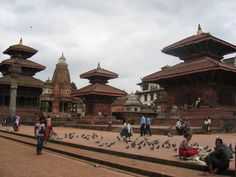 KATHMANDU VALLEY, Nepal: lies at the crossroads of ancient civilizations of Asia. It has at least 130 important monuments covering centuries of building, including several pilgrimage sites for Hindus and Buddhists. Bahadur Shah, who ruled as a regent for his nephew for close to a decade through 1794, built one of the latest temples in Durbar Square. Today, the Kathmandu Valley is also the most developed & populated place in Nepal.