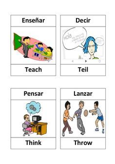 Action Words List New Verbos En Ingles  Ojo  Pinterest  Verbs List