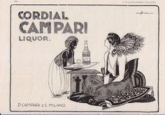 CAMPARI pubblicità originale anno 1930 (H.429)