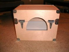 Might do this       http://www.ikeahackers.net/2007/08/simple-ideas-for-cat-litter-boxes.html