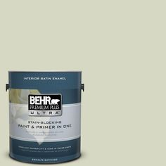 BEHR Premium Plus Ultra 1-gal. #S370-2 Feng Shui Satin Enamel Interior Paint