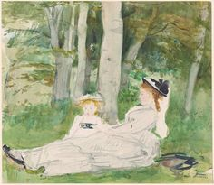 At the Edge of the Forest (Edma and Jeanne)