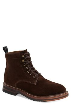 Cole Haan & Todd Snyder 'Bryling' Plain Toe Boot (Men) available at #Nordstrom
