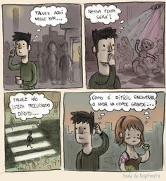 É difícil encontrar o amor?