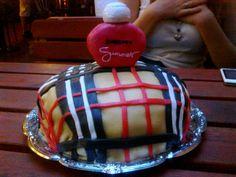 #burberry #summer #cake #parfume #red # white #black #pink