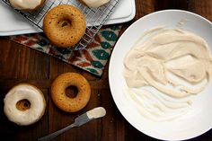 Apple Cinnamon Baked Doughnuts with Brown Butter Glaze by joy the baker, via Flickr