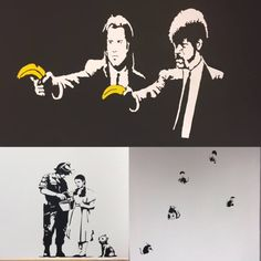 We can't have an office in Bristol without a bit of Banksy.
