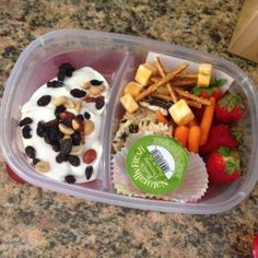 INDULGE in Nutrition- Not Your Average Lunchbox: Healthy Lunches #ontheblog
