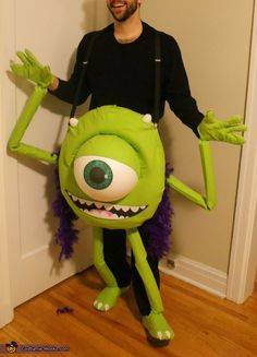 Mike Wazowski - DIY Halloween Costume
