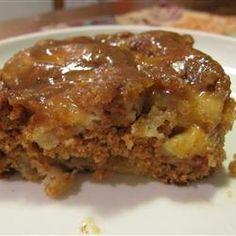 German apple cake recipe - good one!