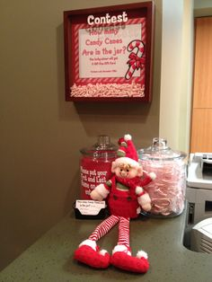 https://www.facebook.com/watsonortho December Lobby Contest. Everyone wanted to eat the candy canes. We had to tell them it was just for the contest!