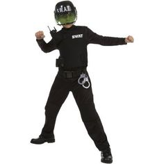 Boy Size L Kids Halloween Costumes Gifts & Holidays Boys Swat Costume, Swat Halloween Costume, Halloween Outfits, Halloween Costumes For Kids, Halloween Themes, Halloween Dress, Team Costumes, Walmart, Role Play