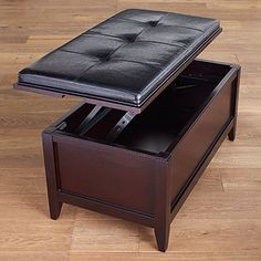 World Market Sullivan List-Top Ottoman Bench With Storage, Coffee Table With Storage, Table Storage, My Living Room, Living Room Chairs, Linen Bedroom, Affordable Home Decor, Cool Furniture, A Table