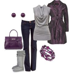 I think I could pull this off. I love plum