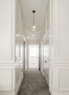 11 ft hallway with wainscoting - Google Search