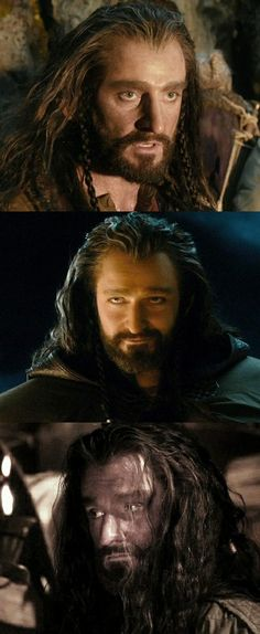 Richard Armitage as Thorin Oakenshield in The Hobbit Trilogies
