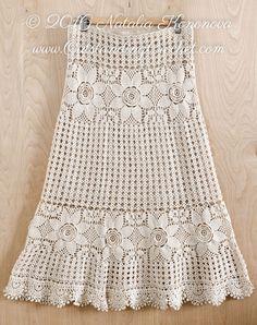 Ravelry: Tiered Maxi Skirt by Natalia Kononova