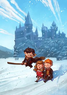 "lis-alis: ""I wanted to draw something new for the Moscow Comics Convention. Images Harry Potter, Harry Potter Cartoon, Harry Potter Artwork, Harry Potter Drawings, Harry Potter Tumblr, Harry Potter Wallpaper, Harry Potter Characters, Always Harry Potter, Cute Harry Potter"