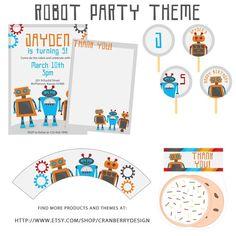 robot printable activities