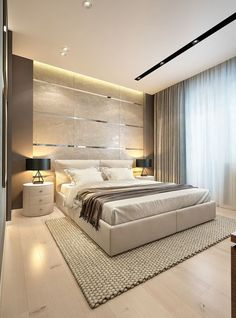 15 Luxury Bedroom Design Ideas – 15 Luxury Bedroom Design Ideas – More from my site 20 Luxurious Bedroom Design Ideas To Copy Next Season Modern Luxury Bedroom, Luxury Bedroom Design, Modern Master Bedroom, Bedroom Furniture Design, Master Bedroom Design, Minimalist Bedroom, Contemporary Bedroom, Luxurious Bedrooms, Bedroom Decor