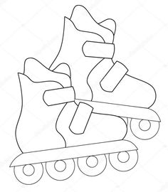 New coloring pages hippo roller skates Kids Roller Skates, Retro Roller Skates, Roller Derby Girls, Boy Coloring, Coloring Pages For Boys, Coloring Book Pages, Roller Derby Tattoo, Cartoon Hippo, Photo Sketch