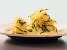 Taglierini met courgette en ricotta - Recepten - Culinair - KnackWeekend.be