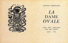La Dama Oval de Leonora Carrington, collages de Max Ernst