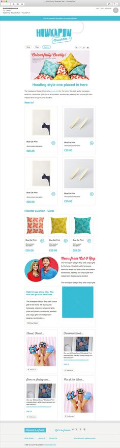 The Best MailNinja ECommerce Email Template Designs Images On - Best ecommerce email templates