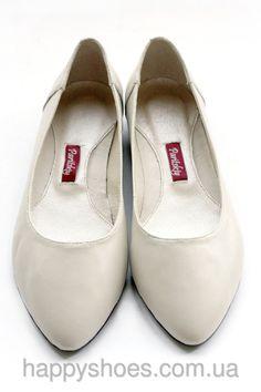 Кожаные балетки с острым носком, #балетки2016 #весна2016 #лето2016 #балеткикожа