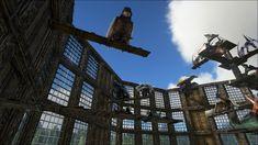 Jurassic Ark, Ark Survival Evolved Bases, Island, Video Games, Medieval Times, Travel, Pens, Random Stuff, Buildings
