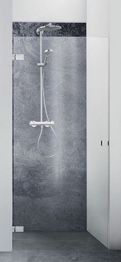 Dansani AIR brusedøre. Enkelt dansk design. #dansanibrus #dansaniair #dansani #bruseafskærmning #brusedør #vvscomfort