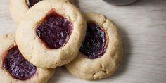 Gluten-Free Honey Peanut Butter & Jam Cookies