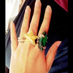 """""""Sale"""" all 3 rings for 1 price Grab all these unique style rings only for 10$ Accessories"""