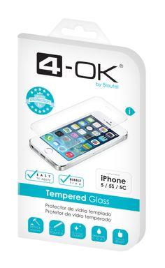 Tu smartphone libre de golpes y arañazos con Tempered Glass de 4-OK by Blautel
